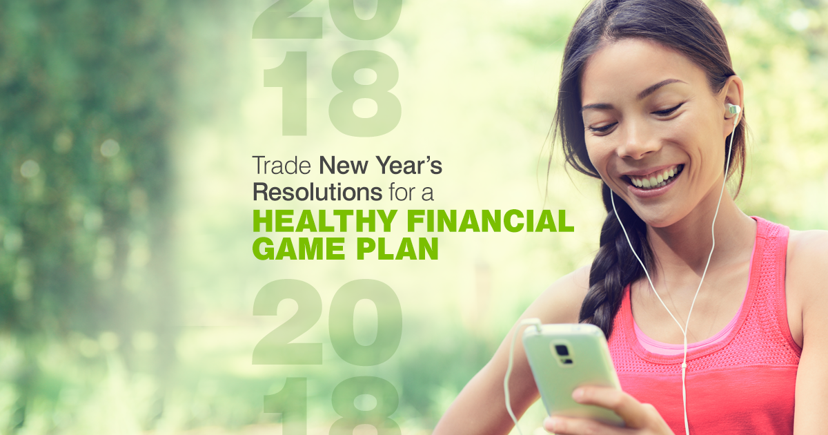 Given up on your new year's resolutions already? Why we think you should opt for a financial plan instead.