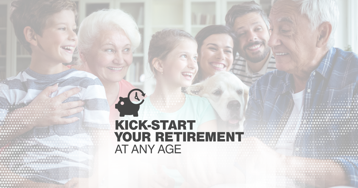 When it comes to retirement planning, time is precious. We have tips to help you jump-start your retirement planning at any age.